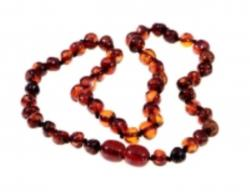 Amber Adult Cherry Necklace 46cm