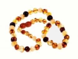 Amber Adult Multi Necklace 46cm