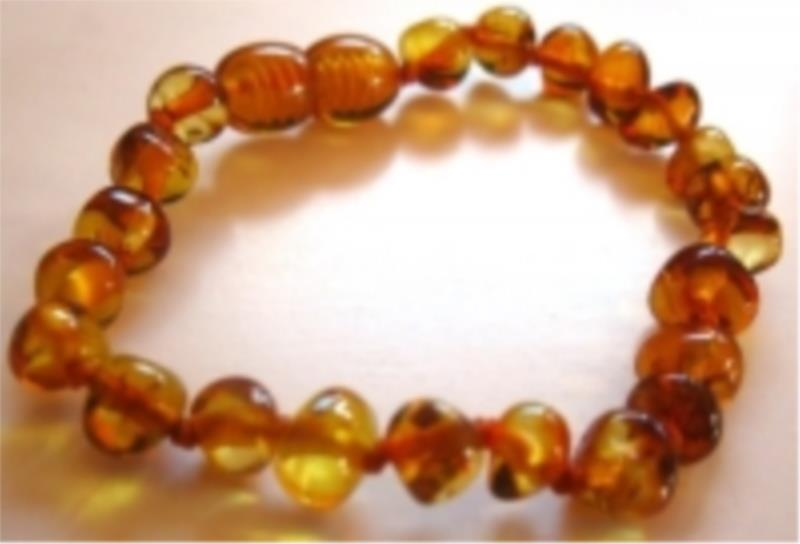 Amber Infant Honey Anklet 15cm