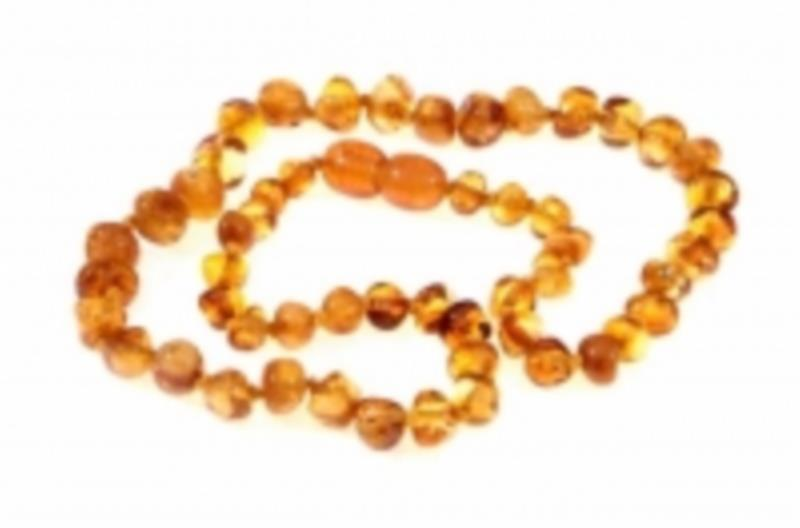Amber Infant Honey Necklace 33cm