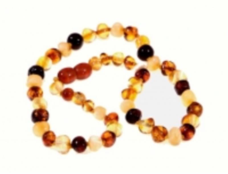 Amber Infant Multi Necklace 33cm