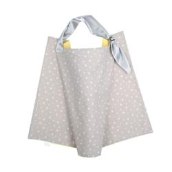 Breast Feeding Cover Diamond Grey