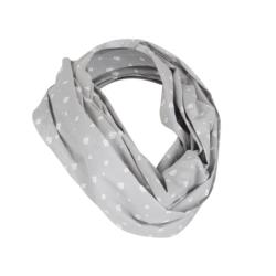 Breast Feeding Scarf Diamond Grey
