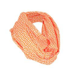 Breast Feeding Scarf Geo Rust
