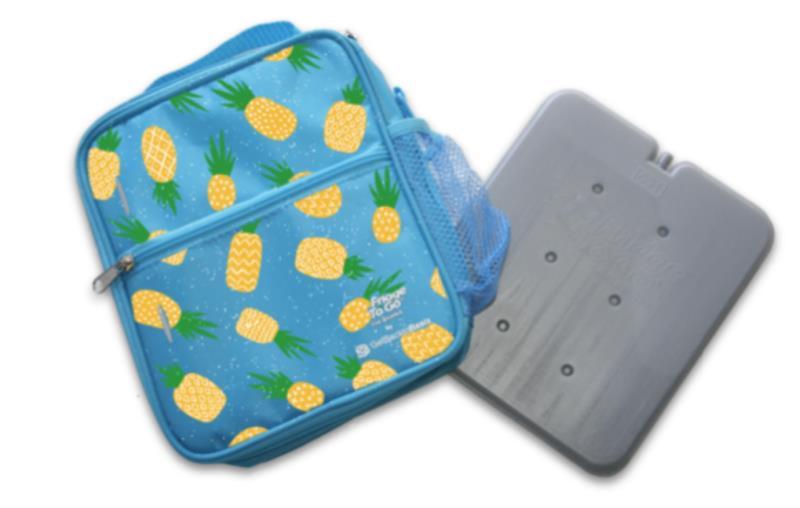 Fridge to Go Lunch Box Med Pineapple