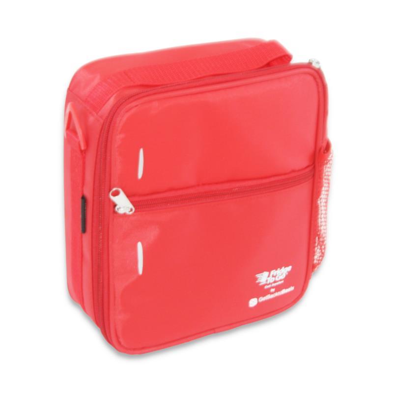 Fridge to Go Lunch Box Med Red