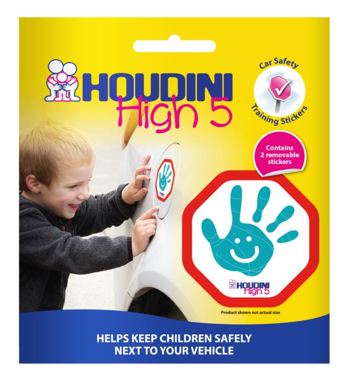 Houdini High 5 Sticker Twin Pack - Aqua