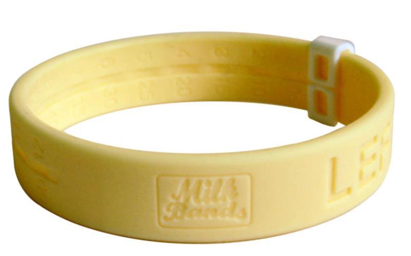 Milk Band - Yellow