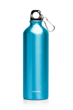 My Family 500ml Double Wall SS Bottle Blue
