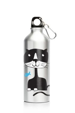 My Family 500ml SS Bottle Cat