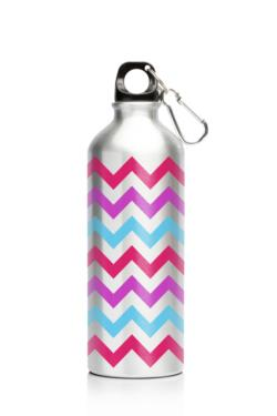 My Family 500ml SS Bottle Chevron