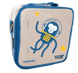 My Family Lunch Bag by Fridge to Go Space Monkey