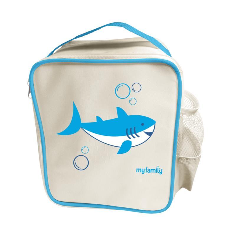 My Family Lunch Cooler Bag Shark