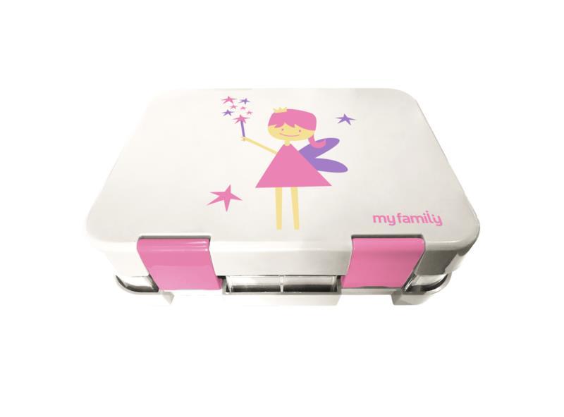 My Family Super Bento Fairy - 6 Compartment