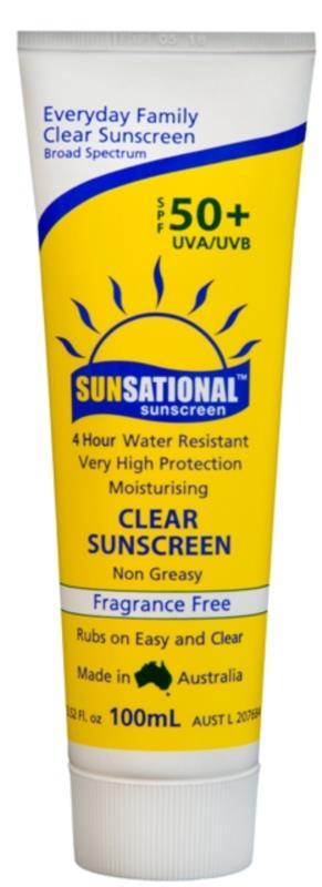 Sunsational SPF50+ Sunscreen, 100mL Tube