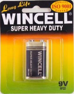 Winmax Alkaline Super 9V battery, pk1